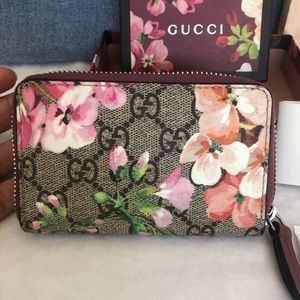 Gucci Blooms Card/Coin Case